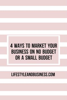 Struggling to launch your new small business/creative startup or scale your existing one? Read this article on social media and PR to learn 4 free or low cost ways to market your business.