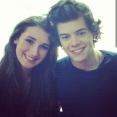 Harry & Abigail (his childhood gf)