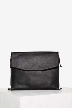 Keep It Brief Zipper Crossbody Bag