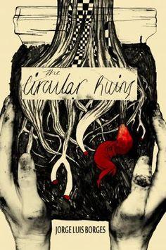 The Circular Ruins Book Cover by 2015 Illustration Awards entrant Jordan Cook. l Victoria and Albert Museum #art #illustration