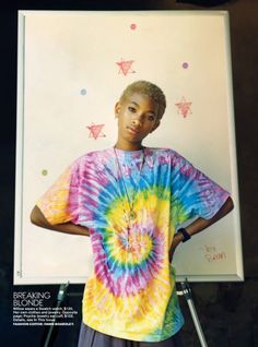 Jamie Hawkesworth Shoots Willow Smith for Teen Vogue