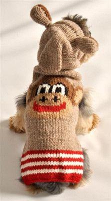 Monkey Dog Hoodie