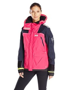Helly Hansen Womens Skagen Race Jacket Magenta XLarge ** You can get additional details at the image link. (This is an affiliate link) Designer Plus Size Clothing, Sweaters For Women, Women's Sweaters, Helly Hansen, Skagen, North Face Backpack, Plus Size Outfits, Plus Size Women, Rain Jacket