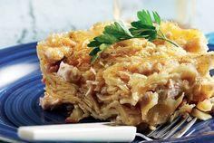 Λαζάνια µε κοτόπουλο, πράσο και κρέµα τυριού   Συνταγή   Argiro.gr Cookbook Recipes, Cooking Recipes, Food Categories, Lasagna, Mashed Potatoes, Yummy Food, Yummy Recipes, Food And Drink, Pasta