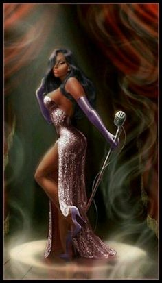 African American jessica rabbit from reannon - Beauty Women Art Black Love, Black Girl Art, My Black Is Beautiful, Beautiful Eyes, Beautiful Pictures, Black Art Pictures, Black Artwork, Dope Art, Up Girl