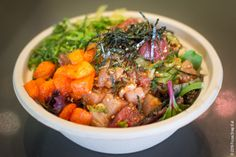 poke bowl at Limu & Shoyu via Focus:Snap:Eat blog