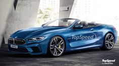 BMW M8 Convertible rendered by Top Speed - http://www.bmwblog.com/2017/06/09/bmw-m8-convertible-rendered-top-speed/