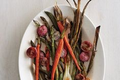 High-heat roasting concentrates vegetables'         flavor and brings out their sweetness—         a big reward for little effort. Use this recipe as         a template. Most important: Cut into similar-size         pieces, and don't overcrowd the pan.