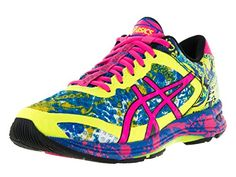Asics Women s Gel-Noosa Tri 11 Safety Yellow Hot Pink Electric Blue Running  Shoe 8 Women US  Go fast and far in comfort and style with the ASICS GEL- Noosa ... 495c44d83b91c