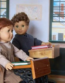 Gilbert Blythe and Anne Shirley by GrammyCarol American Girl doll customs Anne of Green Gables