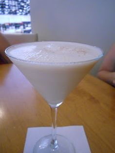 RumChata Martini - Rumchata and vanilla vodka. I may have never tasted a liquor more delicious than rumchata