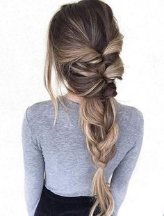 Braided Ponytail Hairstyles Ideas for this Spring 2018