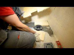 Как сделать и установить напольный слив для душа, особенности монтаж трапа в полу, советы мастеров