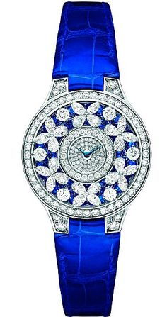Graff Butterfly Watch, £86,000: By London-based jewellers Graff, it has 232 diamonds. It includes six 'butterflies' made of pear-shaped diamonds
