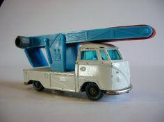 Vintage Toy Husky VW Volkswagen Pick Up Luggage Elevator Conveyor Truck - originally distributed solely by Woolworths