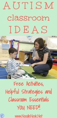 Here are some Autism Classroom ideas that will help you get things going (and not become a Pinterest fail).