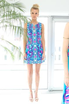 A look from Lilly Pulitzer's resort 2016 presentation. Photo: Lilly Pulitzer
