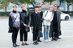 •161014 #BTS heading to KBS Music Bank #Wings