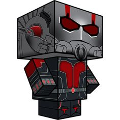 blog-antman Craft Free, D Craft, Craft Ideas, Ant Man Trailer, Ant Man Comic, Ant Man Helmet, Origami Insects, Papercraft Download, Paper Art