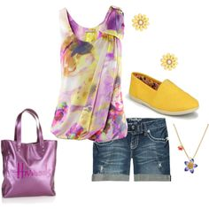 Cute ! I would do purple Toms instead of yellow . I love purple