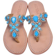 Mystique Sandals is the premiere women's jeweled sandals brand. A Los Angeles based company that designs, manufactures, & distributes men's and women's sandals for fashion forward people. Sparkly Sandals, Rhinestone Sandals, Beaded Sandals, Summer Sandals, Summer Shoes, Leather Sandals Flat, Flat Sandals, Flat Shoes, Shoes Sandals