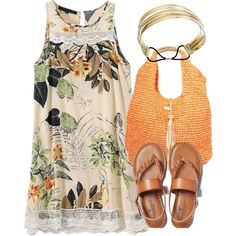 summer 9 by twintnmom-1 on Polyvore featuring polyvore fashion style American Eagle Outfitters Nali