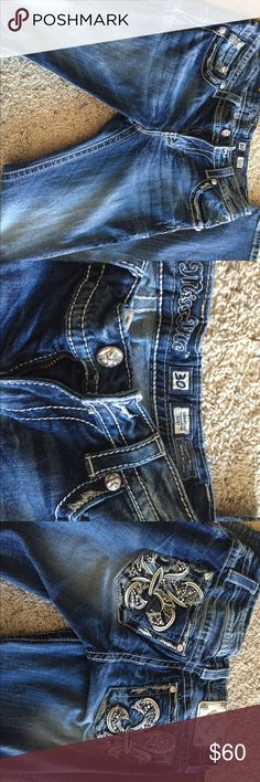 Miss me jeans Wore only a few times miss me jeans size 30 length 34 Miss Me Jeans Boot Cut