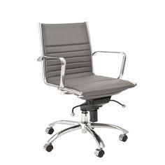 Dirk Low Back Adjustable Height Chair | Zuri Furniture