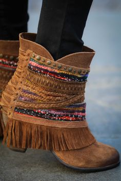Nothing Can Stop Me Studded Boho Booties - NanaMacsBoutique  - 6