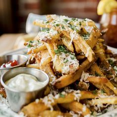 Best Garlic Parmesan French Fries Recipe - How to Make The Merc's Garlic Parmesan Fries