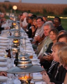 Would love to do this one day! Farm to Table Dinners