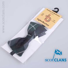 Wool Bow tie in Graham of Montrose Modern Tartan