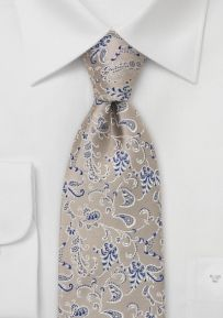 bows n ties $24.90 Elegant Silk Tie in Champagne and Blue