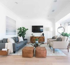 Mid century living room inspiration mid century living room modern on a budget ideas home decor Mid Century Modern Living Room, Living Room Modern, My Living Room, Living Room Interior, Home And Living, Living Room Designs, Cozy Living, Coastal Living, Gray Couch Living Room