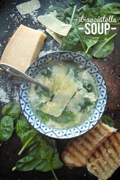 Stracciatella Soup /