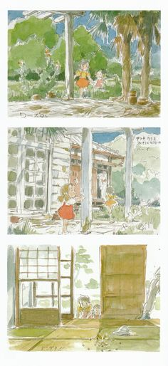 My Neighbor Totoro   Hayao Miyazaki   Studio Ghibli / Kusakabe Satsuki, Kusakabe Mei, and Kusakabe Tatsuo (Satsuki and Mei's Father)