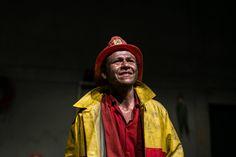 Hay que apagar fuego del grupo El Anhelo Del Salmón (Bogotá) * Casa Del Teatro de Medellín * Décima fiesta de las artes escénicas * Foto: Sara Jurado