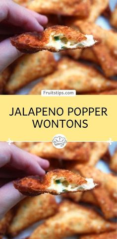 Jalapeno Popper Wontons – My RecipesYou can find Wontons and more on our website.Jalapeno Popper Wontons – My Recipes Wonton Appetizers, Wonton Recipes, Yummy Appetizers, My Recipes, Mexican Food Recipes, Appetizer Recipes, Cooking Recipes, Favorite Recipes, Recipies