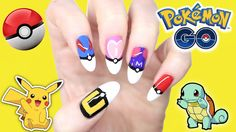 Join the Pokemon Go rush with Pokemon Nails: DIY