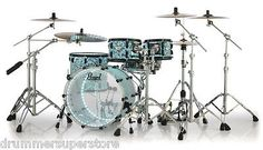 Pearl Limited Edition Drum Set Crystal Beat Acrylic 4pc PREORDER!