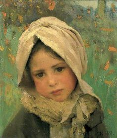 A Little Child - George Clausen - 1852 - English