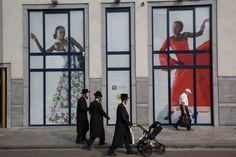 Antwerp, Jewish district 2014 by Harry Gruyaert . Magnum Photo