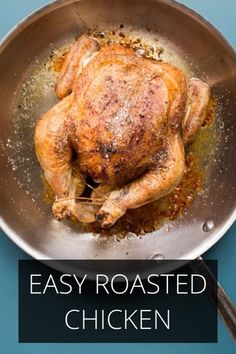 Delicious and healthy easy roasted chicken - story by Russ Crandall on Steller