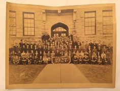 Vintage 1927 Class Photo From Yale? Holy Cross? Vassar? University College Pic  | eBay