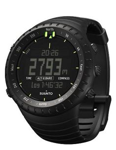 Man's Guide To Dive Watches | How To Buy The Right Diver's Watch - Suunto Core Wrist-Top Computer Watch with Altimeter, Barometer, Compass, and Depth Measurement