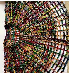 Ankara Web Cape Necklace by AdinkraExpo on Etsy ~African fashion, Ankara, kitenge, African women dresses, African prints, Braids, Nigerian wedding, Ghanaian fashion, African wedding ~DKK