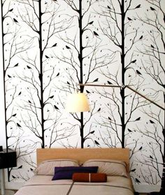Blackbird Wallpaper - Featured Goods | Uncovet