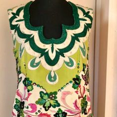 Enjoy this Emilio Pucci evening gown! 70's masterpiece haute couture. ❤️