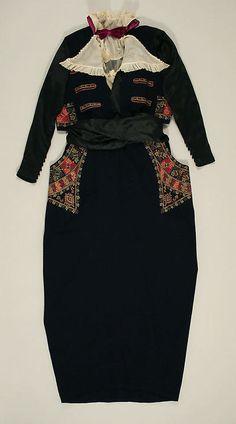 Dress 1914-1919 The Metropolitan Museum of Art - OMG that dress!