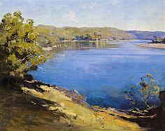 Theodore Penleigh Boyd (Australian, 1890-1923) - Hawkesbury River 1922.